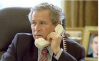 George-bush-on-phone