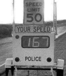 Funny speed-limit-sign