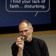Funny steve-jobs-lack-of-faith-disturbing