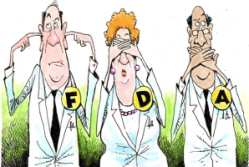 FDA deaf dumb blind cartoon