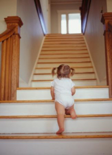 Babysteps goig up stairs
