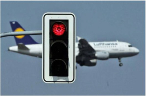 Airplane stop light funny