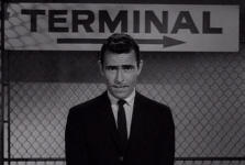 Rod Serling Twilight Zone Airport Terminal