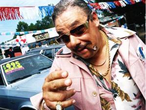Funny car salesman