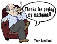 Rich greedy landlord