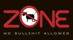 Nobullshit sign bullshit free zone