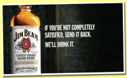 Jim Beam Billboard Guarantee