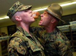 DrillInstructor marine sergeant yelling