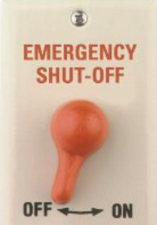Emergency shut off kill switch