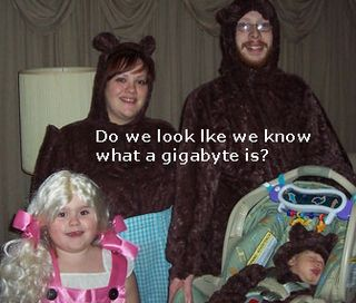 Funny goldilocks and three bears family pic