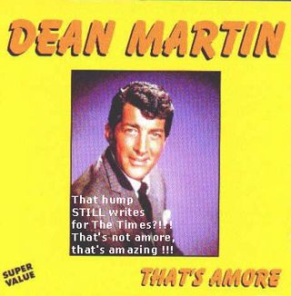 Dean Martin Album Art That's Amore