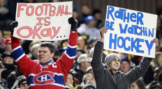 Nhl fans rather be watching hockey