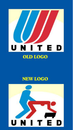 Funny united airlines new logo change