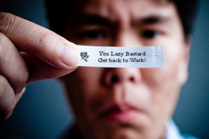 Funny fortune cookie saying
