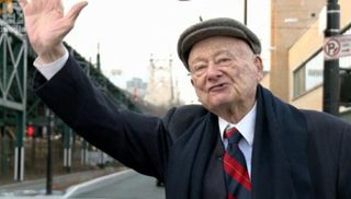 Mayor ed koch waving