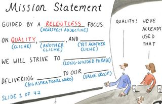 Mission statement fill in the blanks