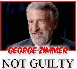 Funny george zimmer pic not guilty