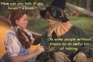 Scarecrow and dorothy-the-wizard-of-oz-funny-quotes
